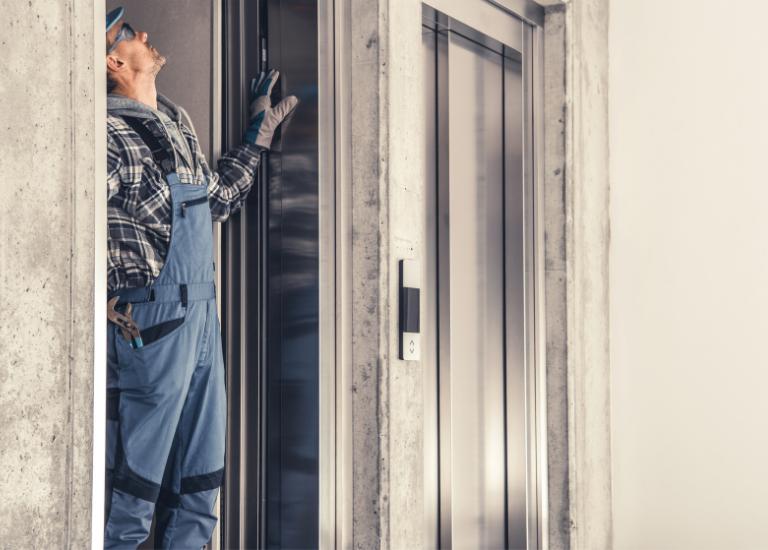 elevator door maintenance